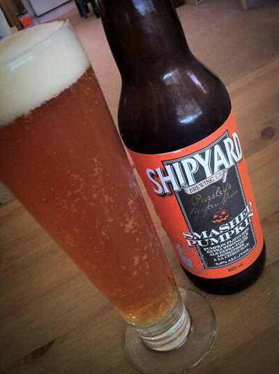 Smashed Pumpkin - Shipyard Brewing Co.