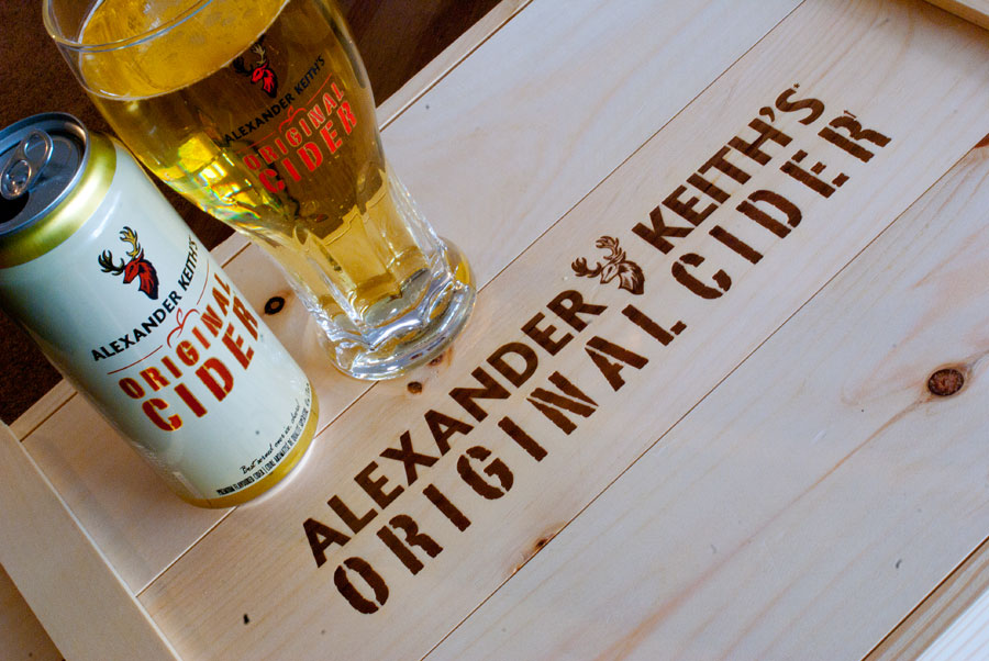 Original Cider - Alexander Keith's (AB/InBev)
