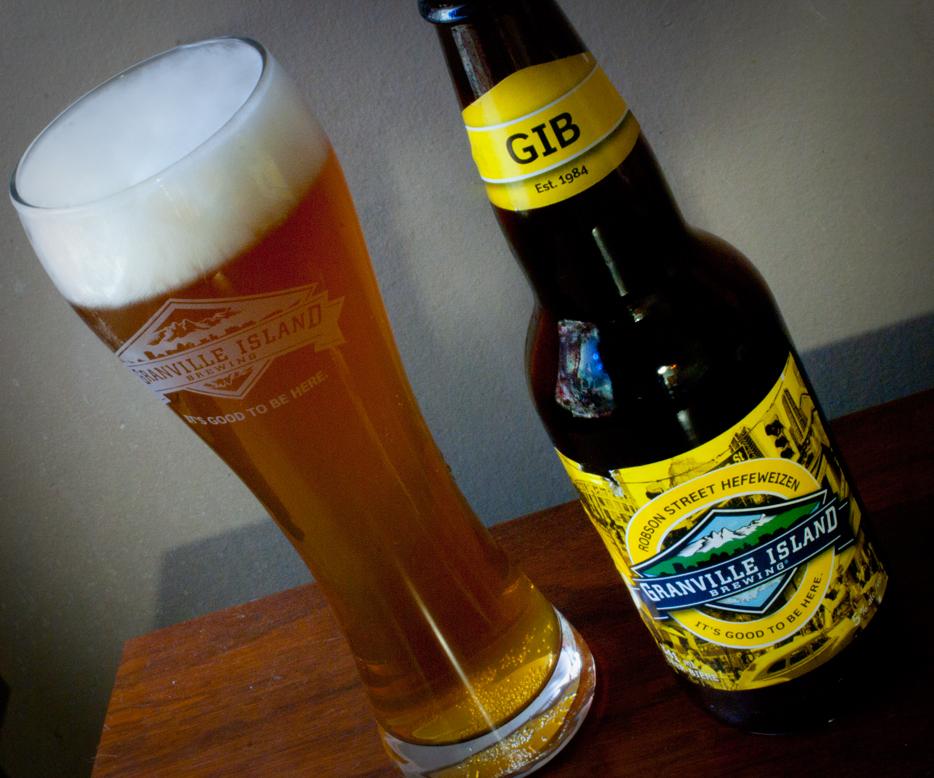 Robson Street Hefeweizen - Granville Island Brewery