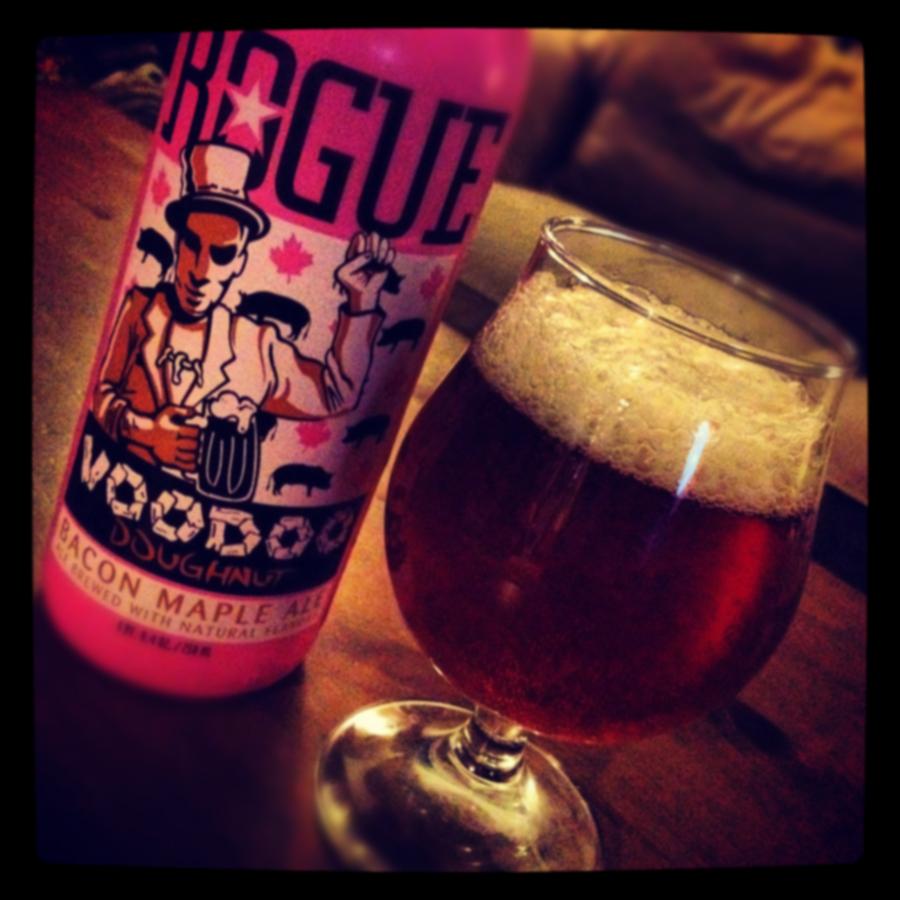 Voodoo Doughnut Bacon Maple Ale - Rogue Ales