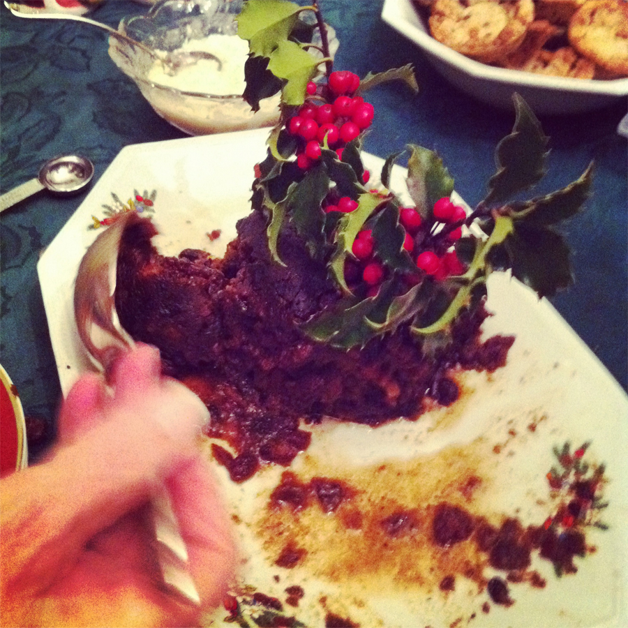 Last Year's Christmas Pudding