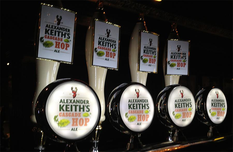 Alexander Keith's Hop Series Cascade Ale Taps