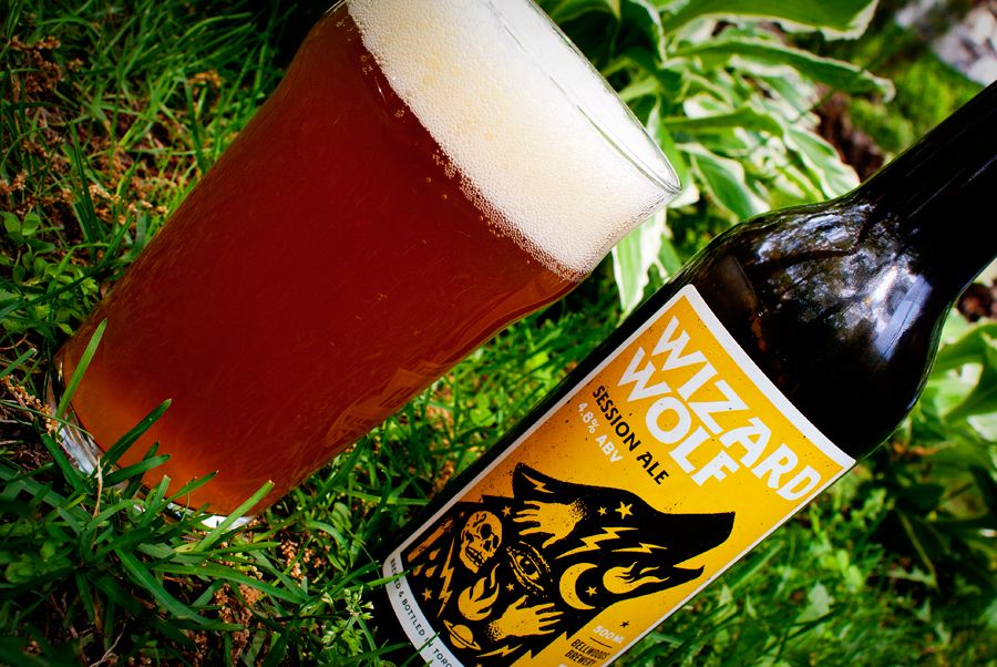 Wizard Wolf Session Ale — Bellwoods Brewery