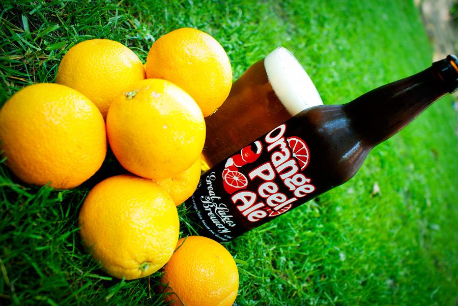 Orange Peel Ale — Great Lakes Brewery