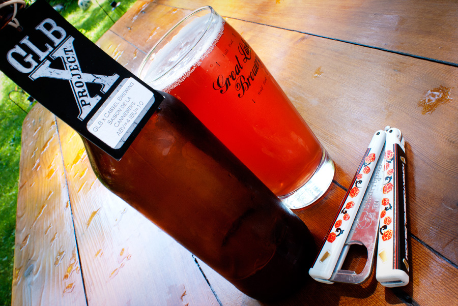 Saison de la Canneberg — Great Lakes Brewery x Cassel Brewery