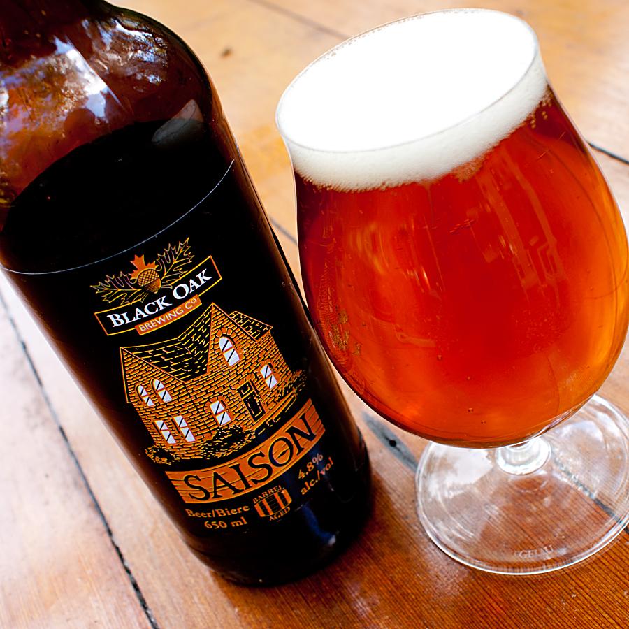Barrel-aged Saison — Black Oak Brewing Co.