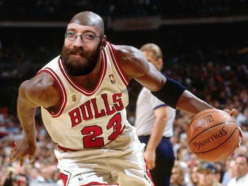 Jordan really should have had a beard