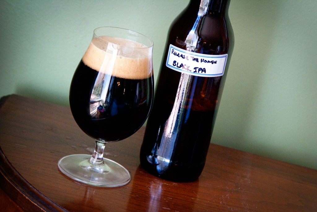 Release The Hounds Black IPA — Big Rig Brewery
