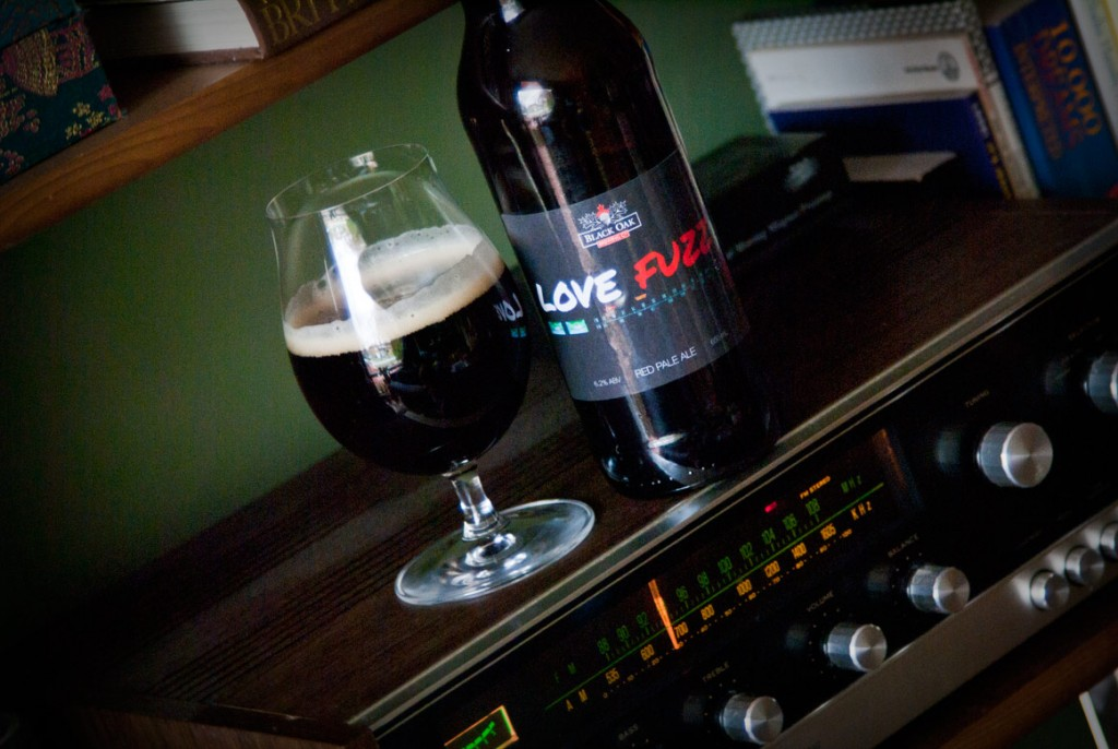 Love Fuzz Red Pale Ale — Black Oak Brewing Co.
