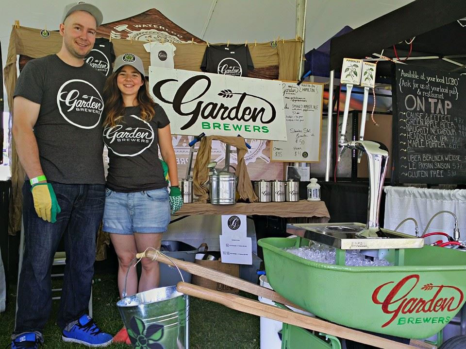 Victor and Sonja North — Garden Brewers